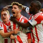 RT @SAFCofficial: FAB-TASTIC: Fabio Borini celebrates his winning goal at Stamford Bridge http://t.co/pNEH4oR2Dl