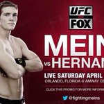 Cant wait to watch Lethbridges Jordan Mein ( @fightingmeins ) on UFC on FOX! #younggun #yql http://t.co/Q1WpHYSFW8