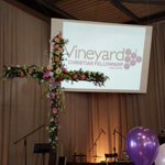 He has risen! Celebrating the risen Christ who redems the world! (@ Vineyard pine rivers) http://t.co/kTzYkbJneP http://t.co/gqoJWQOPpo