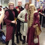 Joffrey isnt looking too good at #awesomecon. Is that something in his drink? #GameOfThrones #awesomecon http://t.co/VlxeZBh0SV