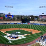 RT @Dodgers: The @LAClippers game on #DodgerVision during batting practice. #GoClippers http://t.co/lxeKwmYTWm