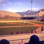 Absolutely perfect day for rivalry baseball in Missoula, and the great cause is a bonus #GrizCat http://t.co/3h91HYAbaI