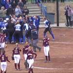 Senior Taylor Dillow steps up and delivers a 2 run walk off home run to win the CAC championship for CNU @cnusoftball http://t.co/qTQISb9jvR