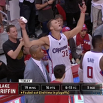 RT @BleacherReport: VIDEO: Blake Griffin threw water on a Warriors fan after fouling out http://t.co/Oj2ICSjWW6 http://t.co/X1HEee7dtH