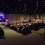 A very good crowd for the first of seven Easter Services at Calvary Clearwater & Calvary East Lake. He is Risen! http://t.co/HgDRe0CiCA