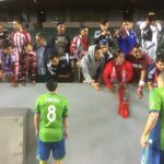 "Classy by Sounders players ""@donruiztnt: Chivas fans bond with Sounders. http://t.co/dsBaHGrPGv"""