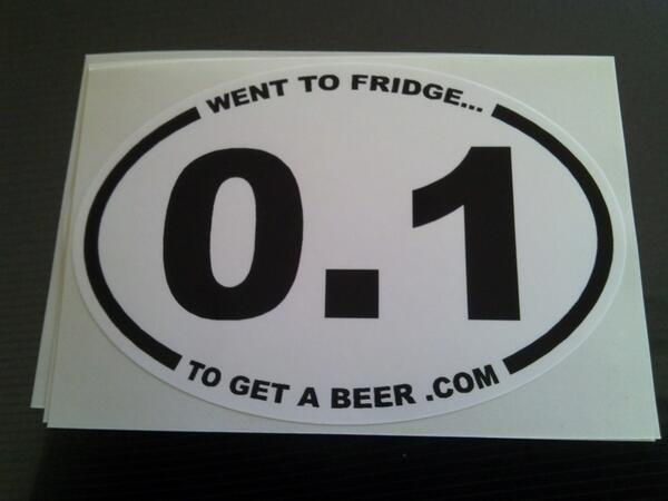 The bumper sticker for beer runners http://t.co/t0D5E7sjpD http://t.co/vp8GeaHGX4