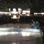 The calm before the storm at @ProsperaPlace...10 minutes until puck drop! Go @Kelowna_Rockets Go! http://t.co/5P0O40sYnx