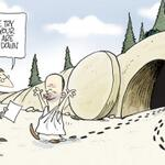 RT @craigjack36: RT @Broelman: CARTOON: Easter Sunday in Queensland #auspol #qldpol http://t.co/SIYDt0RSV2