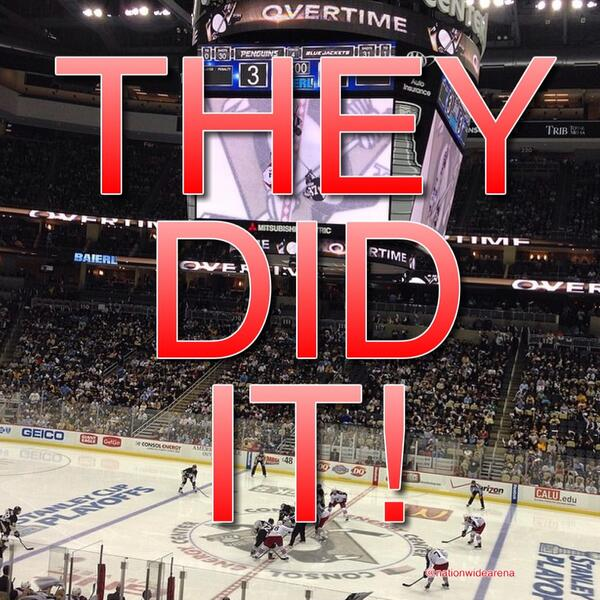 Wow!!! #CBJ #BattleOn http://t.co/ECvdv2tGLW