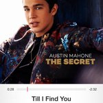cant stop listening @AustinMahone that beat got me like 💃💃💃 cant wait till #TheSecret http://t.co/kXnG16lxYE