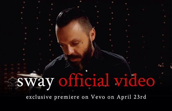 OFFICIAL VIDEO FOR SWAY FINALLY HERE. http://t.co/Pf6XwVOM46