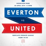 Its #mufc vs @Everton this afternoon. Kick-off at Goodison Park is 16:10 BST. http://t.co/sXvohN5mRi
