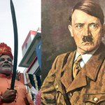 RT @imparixit: On the birthday of Adolf Hitler... #ModiSendMeToPak http://t.co/92BEHfmS1x