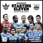 """@simamaung: STARTING XI #Persib (vs Gresik) --> http://t.co/NBuq7C9dVx"""