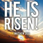 RT @wcagls: He is risen! RT and share this message of hope. #HappyEaster http://t.co/AuwSJKQIvq