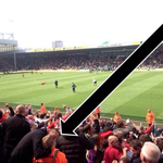 QUALITY: One Liverpool fan got a little too excited at Carrow Road today. http://t.co/mfdfotfMZf
