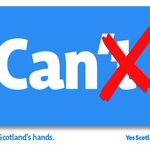 "Yes campaigns new one-word #indyref poster - ""Can"". http://t.co/xn8l5Z12U7"