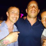 With Guti and Vin Diesel in Movida after the Victorious show. What a night http://t.co/SMiOhq3O4I