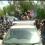 """@ANI_news: Amethi: Arvind Kejriwals road show underway http://t.co/fw0nA7nWhr"" @AamAadmiParty"