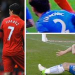 On this day, exactly one year ago, Luis Suárez did the unthinkable. #LFC http://t.co/g1SPkAvwOZ