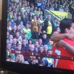 @FootyAccums anyone else notice the Hull fan in the Home end at Norwich? http://t.co/kQH4xbGROY