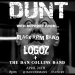 RT @DUNTTHEBAND: Thursday! DUNT @LoGOz Dan Collins Band & @doogsrobdaveian 4 bands for a fiver! @BannermansBar #HappyEaster http://t.co/TsDLdXG0dB