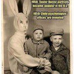Easter Bunny responsible for child psychologist offices :) .... Happy Easter <3 http://t.co/NdcyW7ZsbI
