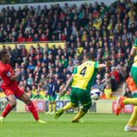 PHOTO: @sterling31s wonderful run and finish puts #LFC 3-1 ahead at Carrow Road http://t.co/rqvlElspL1