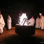 #Easter fire burns bright at #Monastery of the Holy Spirit in #Conyers as faithful celebrate vigil before dawn @ajc http://t.co/BKgP5EDJqH