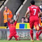 FT Norwich 2-3 Liverpool - #lfc hang on for 3 points against spirited #ncfc http://t.co/5biboxWI1I #NorvLiv http://t.co/TdxHCZ6E2J