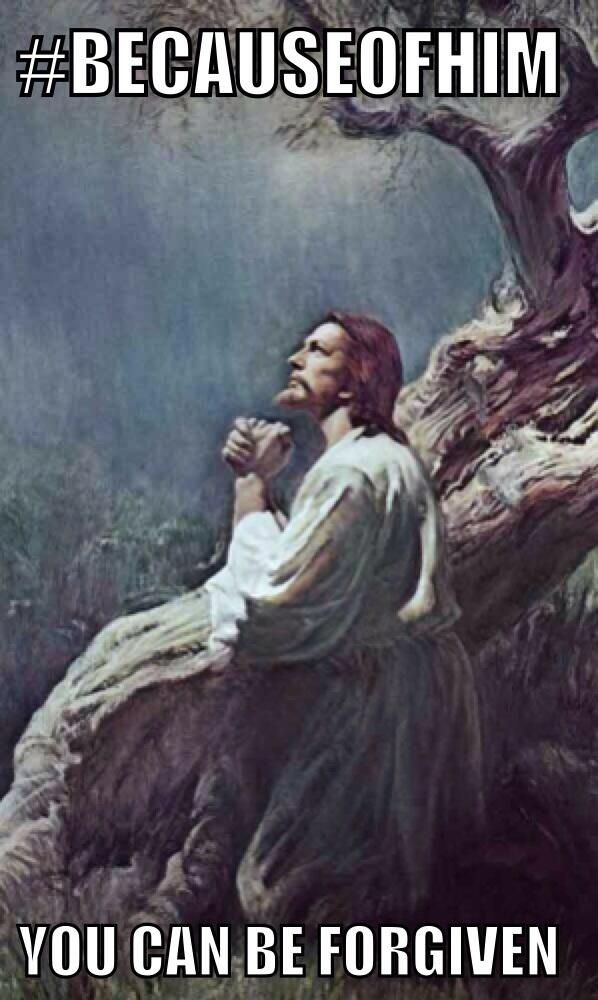 #BecauseofHim you can be forgiven. #lds #christian #jesus #EasterSunday #twitterstake http://t.co/6iwoTtgVCY