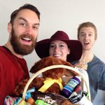 RT @rjswope: Happy #Easter from @alisonhatfield, @colinalexander and me!! Thx Mommy for the basket of goodies and the Bunny! http://t.co/CUQkZsabL9