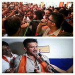 SUNIL Shetty ji campaigning For Bjp in Ahmedabad. @narendramodi @narendramodi_in http://t.co/szwtWZq14J