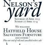 RT @salvation_uk: Read the sign - come along. Fab interiors finds in @NelsonDesignUKs new garden next Sat/Sun! #interiors #Suffolk http://t.co/eiBwWhrMji
