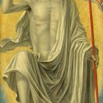 "RT @ngadc: Lombard Bergognone, ""Christ Risen from the Tomb,"" c. 1490, oil on panel #Easter http://t.co/QcO3Q7AJzI"