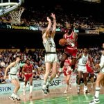 28 years ago today, MJ dropped 63 points on the Celts.  Its still the most points scored in an NBA postseason game. http://t.co/shJjV7y8cf