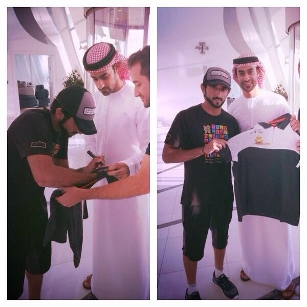 RT @malafridi: #theVictorious t-shirt signed by @HamdanMohammed  Watch #TheVictorious on @dubaitv Mon 22:30 UAE http://t.co/Y6lShFIKbJ