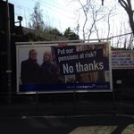 RT @_mozza_: The positive case for the union on my street! Look at the misery on their faces! #indyref http://t.co/J1SdcnpkxQ