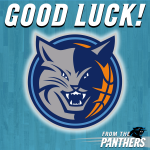 RT @Panthers: Good luck, @bobcats. #BeatTheHeat http://t.co/P3ejBYYVir