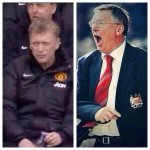"""@TrueRedDevils: Moyes when we are losing Sir Alex when we were losing http://t.co/s2qCDAJUSH"""