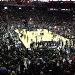 The AT&T Center is blacked out! #GoSpursGo http://t.co/VTykfDCfHb