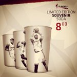RT @AAarena: Check out the limited edition souvenir cups that will be available throughout @MiamiHEAT #whitehotplayoffs @AAarena http://t.co/ynkW3rx44W