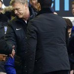 RT @RedMancunian: [Picture] David Moyes at the final whistle. #MUFC http://t.co/Rc1wt3E60C