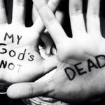 RT @newsboys: Happy Resurrection Day! Hes surely ALIVE! #GodsNotDead http://t.co/5Gal4Z16if