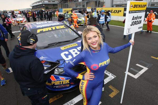 """@ITVSport: Photos: @DoningtonParkUK delivers in all weather http://t.co/H7ItMrrQJI #BTCC http://t.co/eyH1VwTSuV"" is that @MissPennyMay"