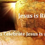 RT @FollowingJesusI: Jesus is Risen! Let us Celebrate Jesus is alive! http://t.co/SWVNxiY3lv