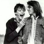 Rare pic of Leonardo DiCaprio and Johnny Depp: http://t.co/XCwVaA75Wj