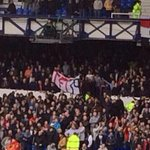 "RT @theawayfans: Some Man United fans with a ""JFT39"" banner at Goodison Park today.. #MUFC #LFC #EFC http://t.co/gD3GENNDR1"