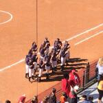 Big win for the Tigers today as they sing the fight song with our fans in attendance. #WarEagle http://t.co/LTAHEZB4L7